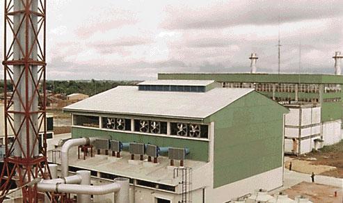 Central Térmica a Vapor instalada por Electroperu – Iquitos 1982
